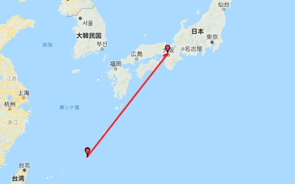 沖縄粟国島&渡名喜島ルート図